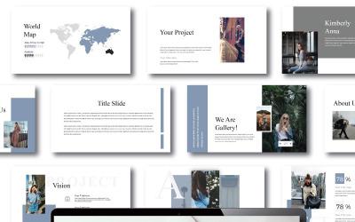 Project - Keynote template