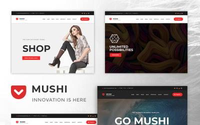 Mushi - The MultiPurpose Responsive Joomla Template