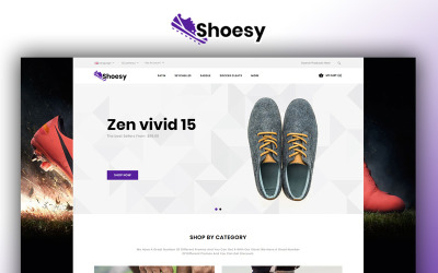 Shoesy - Shoes Store OpenCart Template