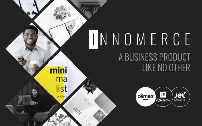 Innomerce - Çok Amaçlı İş Minimal WordPress Elementor Teması