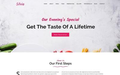 Silvia - Fast Food & Diner Joomla Template