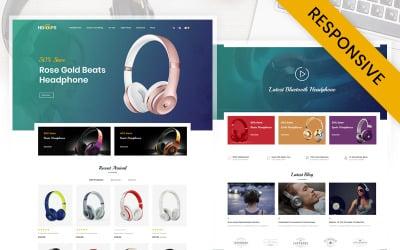 Hoofs - Headphone Store OpenCart Template