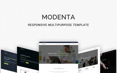 Modenta - A Responsive Multipurpose Website Template