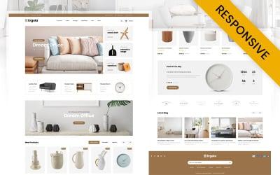 Ergola - Furniture Store OpenCart Template