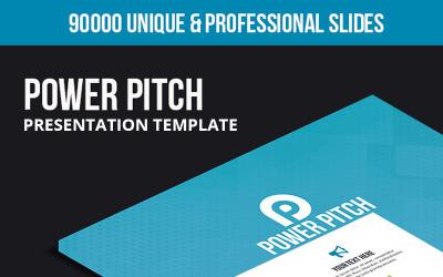 Power Pitch - Modello di Keynote