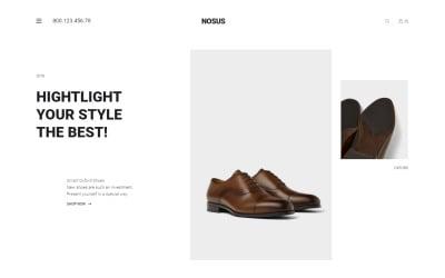 Nosus - Shoes ECommerce Minimal Elementor WooCommerce Theme