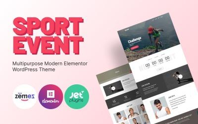 Granul - Tema Elementor WordPress moderno multiuso per eventi sportivi