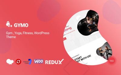 Gymo Gym Многоцелевая тема WordPress