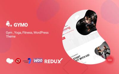 Tema WordPress multifuncional Gymo Gym