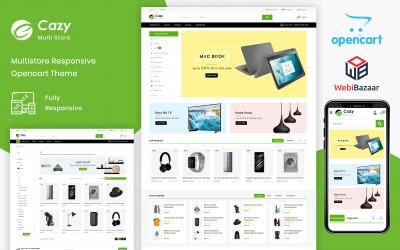Cazy - Die OpenCart-Vorlage für das Einkaufszentrum