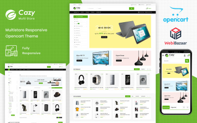 Cazy - Plantilla OpenCart del centro comercial