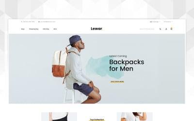 Lewar Bags Store OpenCart Template