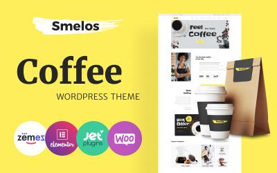 Smelos - Tema classico per WooCommerce di Elementor per l'ecommerce della caffetteria