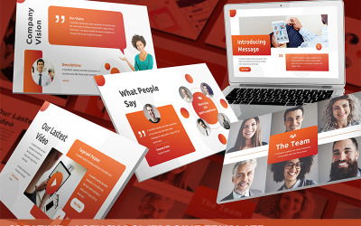 Creative - Agency PowerPoint Template