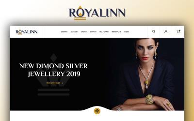 Royalinn Jewellery Store OpenCart Template
