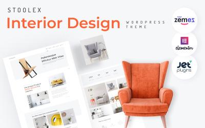 Stoolex - Thème élémentaire WordPress minimal polyvalent de design d'intérieur