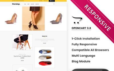 Standup - The Shoe Store Premium OpenCart Template