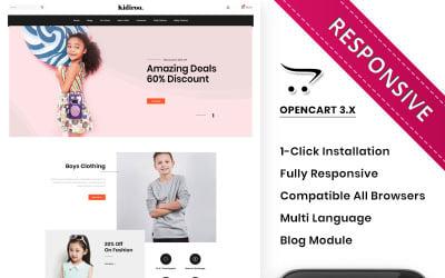 Kidiroo - The Kid Store Responsive OpenCart Template