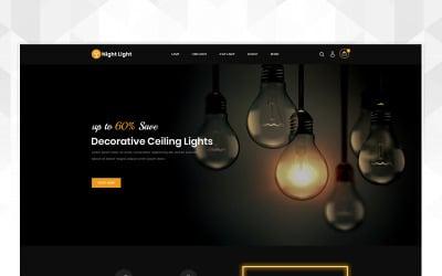 Lighting Store OpenCart Template