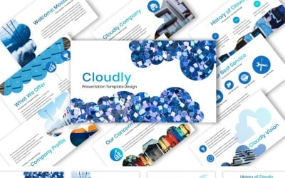 Cloudly - Keynote template
