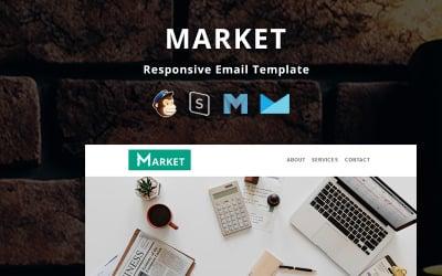 Market - Шаблон корпоративного адаптивного электронного письма