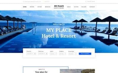 Min plats | Hotel & Resort PSD-mall