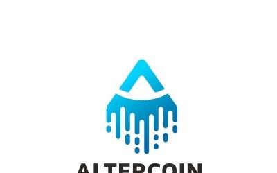 Altercoin A Letter Logo Template