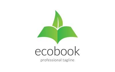 Eco Book Creative Education Logo Design