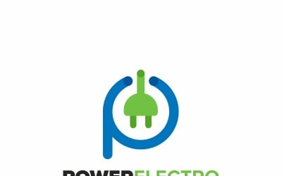 Power Electric Logo Template