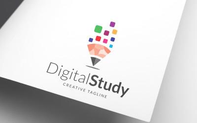 Creative Digital Study Logo Template