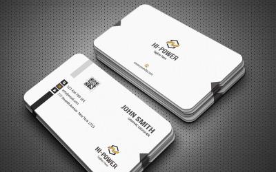 John Smith Simple Business Card. - Corporate Identity Template