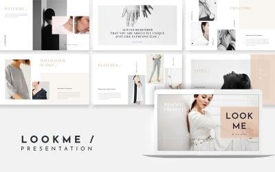 LookMe Minimal Presentation - Keynote template