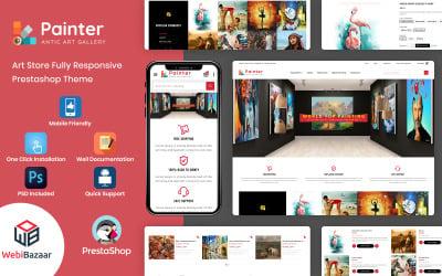 Painter - Multipurpose Responsive PrestaShop Theme