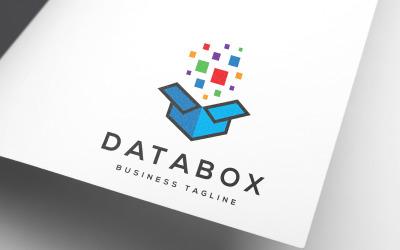 Digital Data Box Logo Template