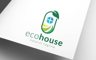 Eco Housing Logo Template