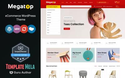 Megatop - Multifunctioneel WooCommerce-thema