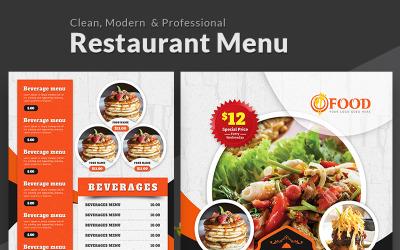 Tasty Restaurant Menu - Corporate Identity Template