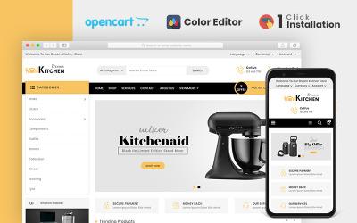 Dream Kitchen Accessories Store OpenCart Template