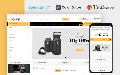 OpenCart шаблон магазина аксессуаров для кухни Dream