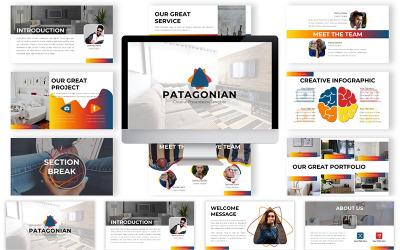 Plantilla de PowerPoint - patagónica