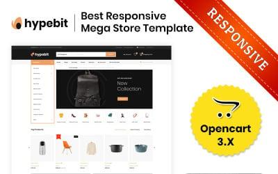 Hypebit - The Mega Store OpenCart Template
