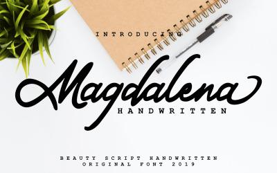 Magdalena   Beauty Script Handwritten Font