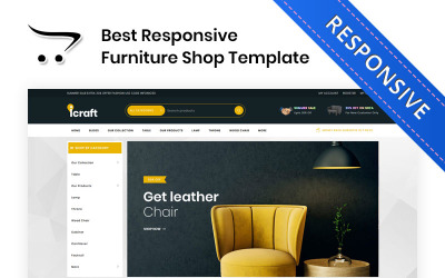 Icraft - The Premium Furniture OpenCart Template