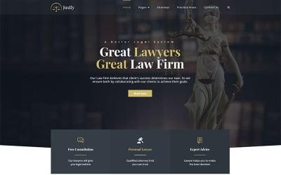Justly-律师和律师WordPress主题