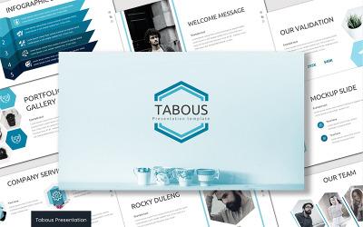 Tabous Google Slides