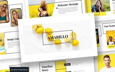 Amarillo - - Keynote template