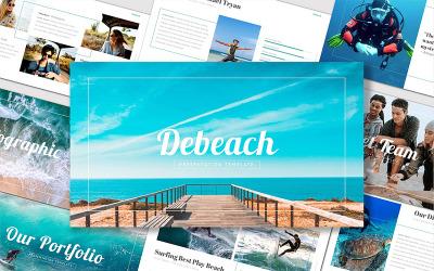 Debeach - - Keynote template