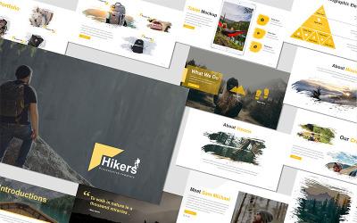 Hikers - - Keynote template