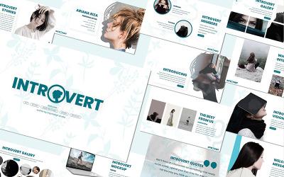 Introvert - - Keynote template