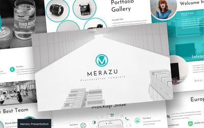 Merazu - - Keynote template